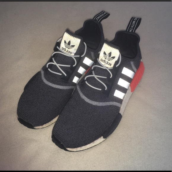 71ba63b2b adidas Other - adidas NMD R-1 Gray Red S31510 Ultra Boost Sz 10